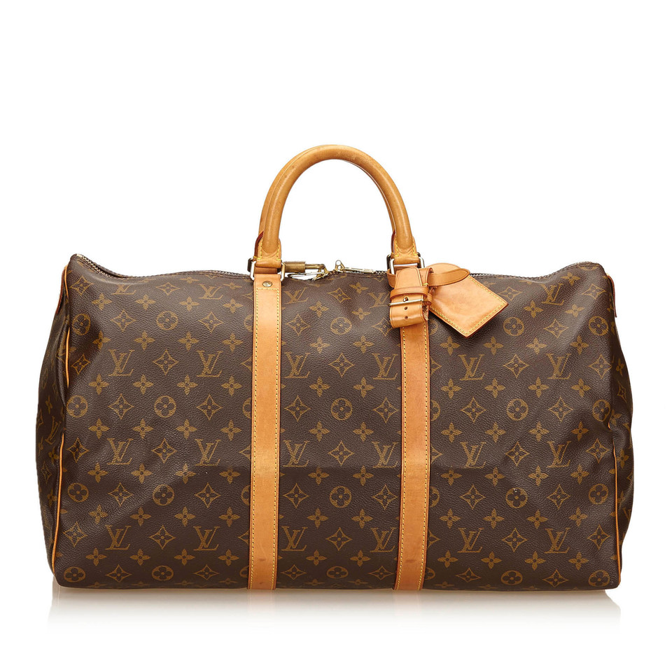 louis vuitton monogram keepall 50 second hand louis vuitton monogram keepall 50 gebraucht. Black Bedroom Furniture Sets. Home Design Ideas