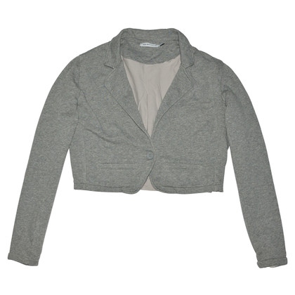 See by Chloé Gray Cotton Jacket
