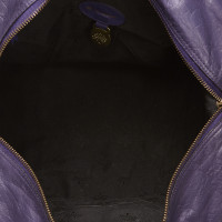Mulberry Leather Duffel Bag