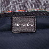 Christian Dior Diorissimo Denim Flight Shoulder Bag