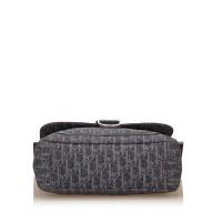 Christian Dior Diorissimo Denim Flight Shoulder Bag
