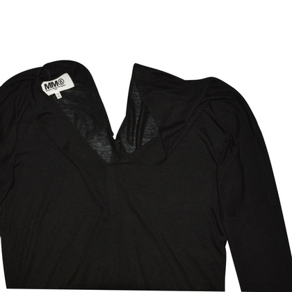 Maison Martin Margiela Black Long Sleeve Blouse