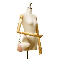 Christian Dior Floral Canvas Mini Saddle