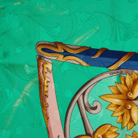 Hermès Printed Silk Scarf