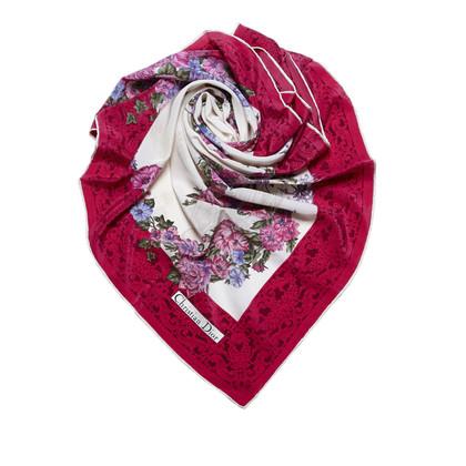 Christian Dior Bloemendruk Sjaal