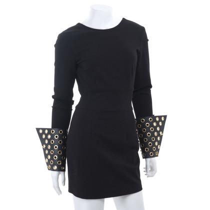 Pierre Balmain Jersey jurk met studs