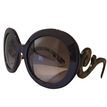 Prada oversized zonnebril