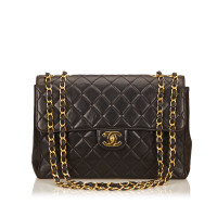 Chanel Quilted Lambskin Jumbo Flap Bag