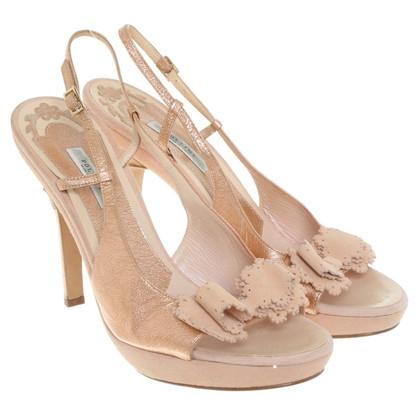 Pollini Sandals in nude