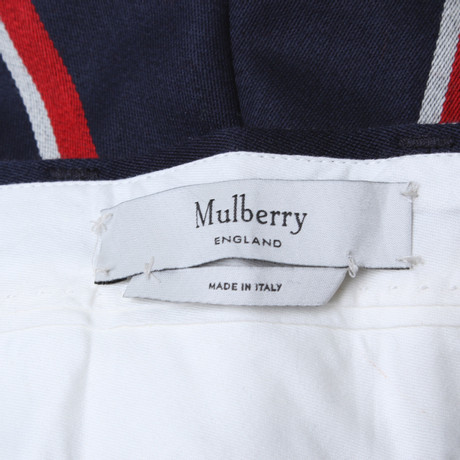 Mulberry Hose In Tricolor Bunt Muster 2018 Neue Preiswerte Online