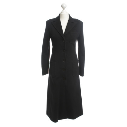 Armani Jeans Knitted coat in black