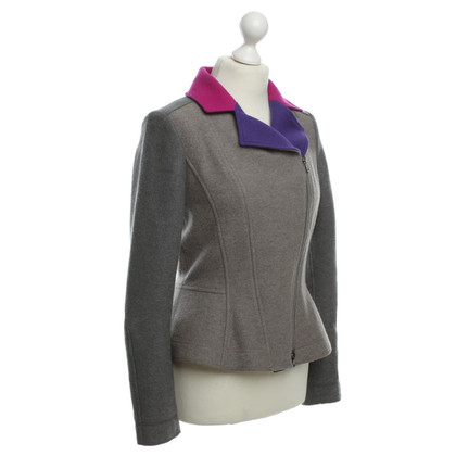 Marc Cain Colorful wool jacket