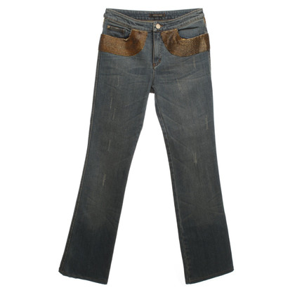 Roberto Cavalli Jeans with beaded trim