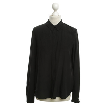 Schumacher Silk blouse in black