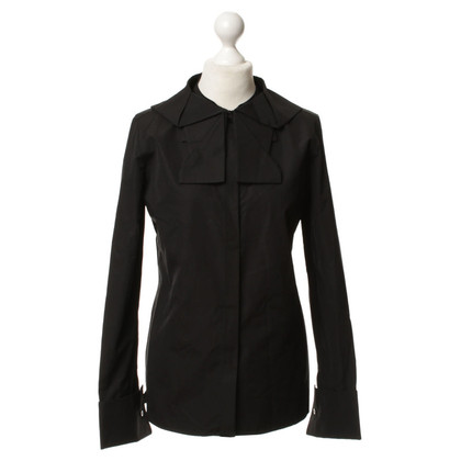 Louis Vuitton Bluse in Schwarz