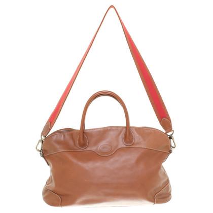 Longchamp Leather handbag in Brown