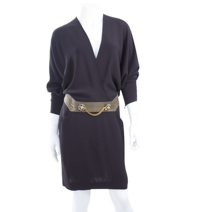 Gucci Silk dress with chain detail