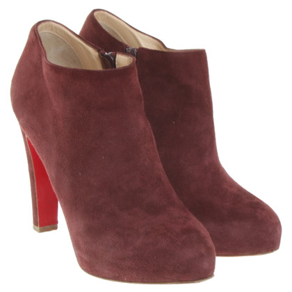 Christian Louboutin Ankle boots in Bordeaux