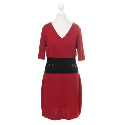 Moschino Strickkleid in Rot