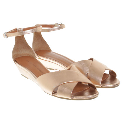 Marc Jacobs Sandalen in Roségold