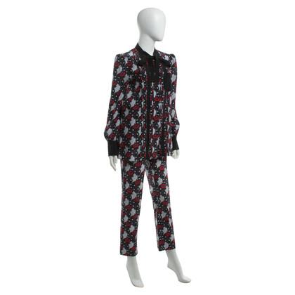 Prada Zijden blouse en broek