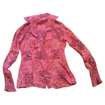 Maliparmi Bluse mit Muster