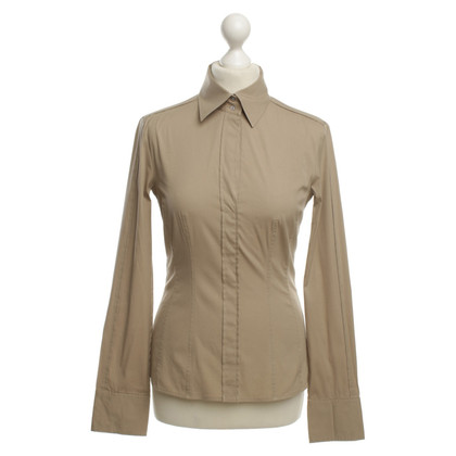 Hugo Boss Bluse in Taupe