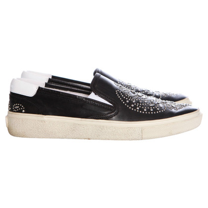Saint Laurent Beslagen Slipper