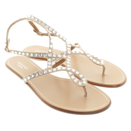 Aquazzura Sandals with precious stones
