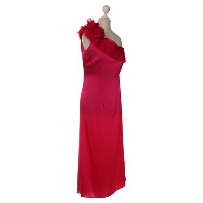 Valentino One shoulder dress in pink