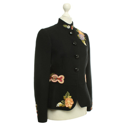 Moschino Cheap and Chic Short jacket with embroidery