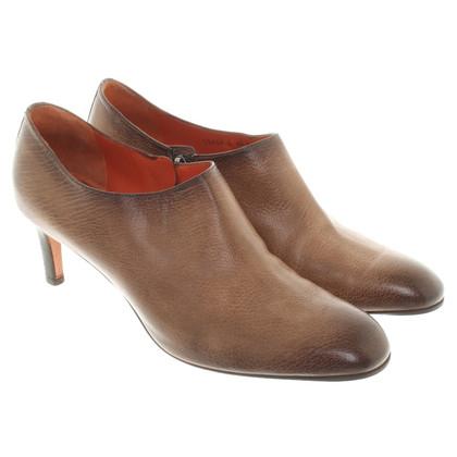 Santoni pumps in brown