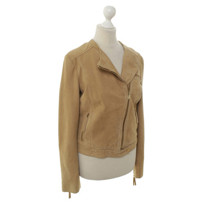 7 For All Mankind Suede jacket in beige