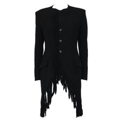 Yohji Yamamoto Frings coat