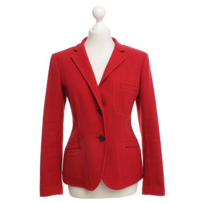 Jil Sander Cashmere jacket in red