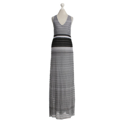 Missoni Maxi dress in black and white