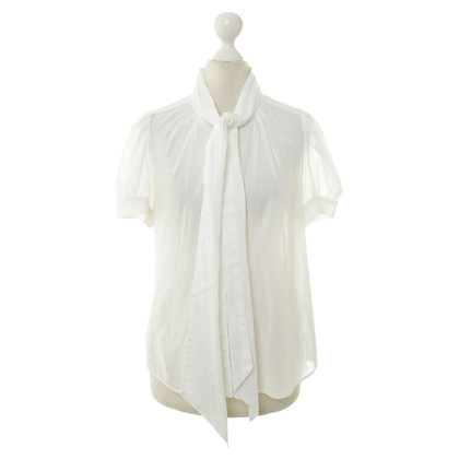 French Connection Witte korte mouwen blouse