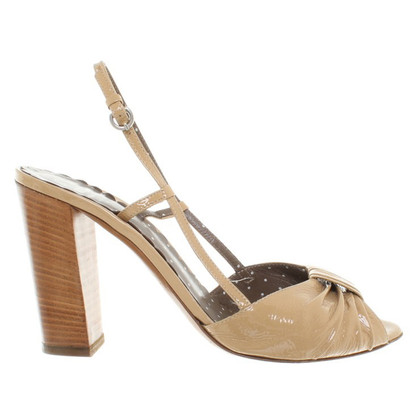Moschino Sandals Patent Leather