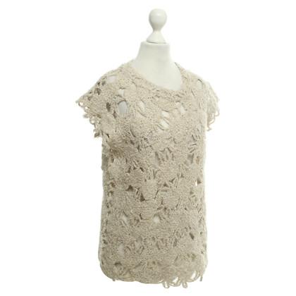 Brunello Cucinelli Haak shirt in beige