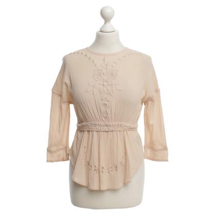 Isabel Marant Etoile blouse nude