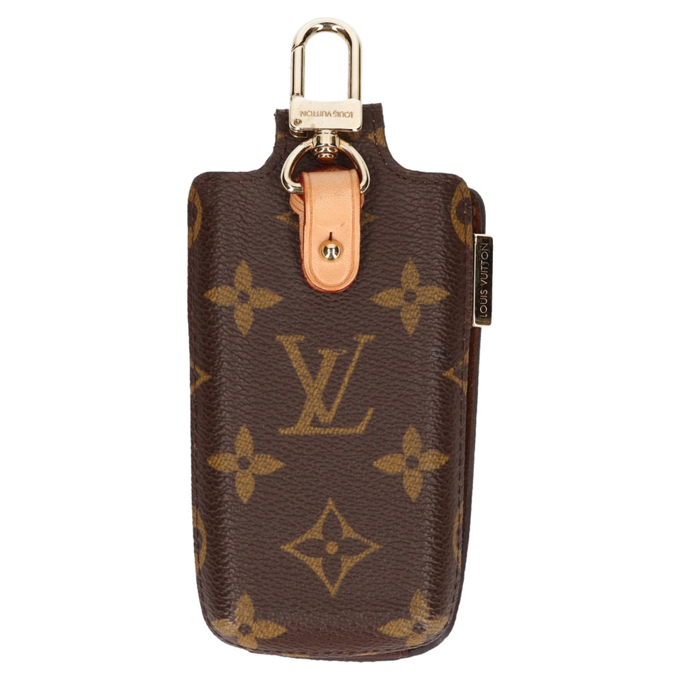 louis vuitton etui van monogram canvas koop tweedehands. Black Bedroom Furniture Sets. Home Design Ideas