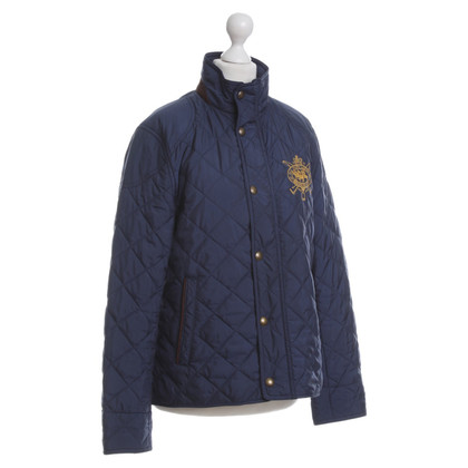 Ralph Lauren Quilted Jacket in dark blue