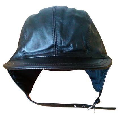 Prada in pelle cappello aviatore