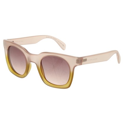 Marc by Marc Jacobs  Sunglasses in nude / olive green