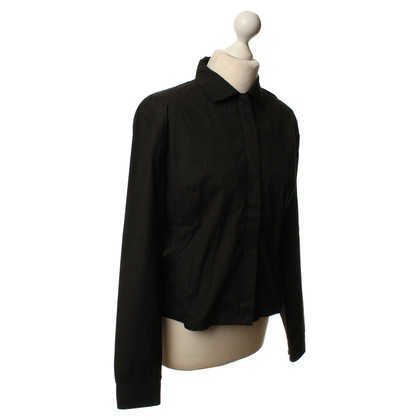 Prada Blouse in dark brown