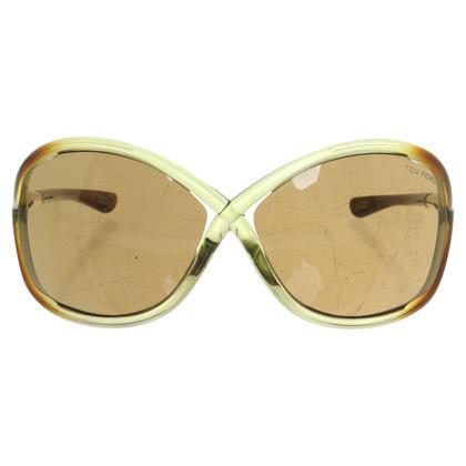 Tom Ford Lunettes de soleil avec des parties transparentes