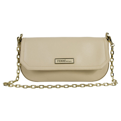 Ferre Cream-colored shoulder bag