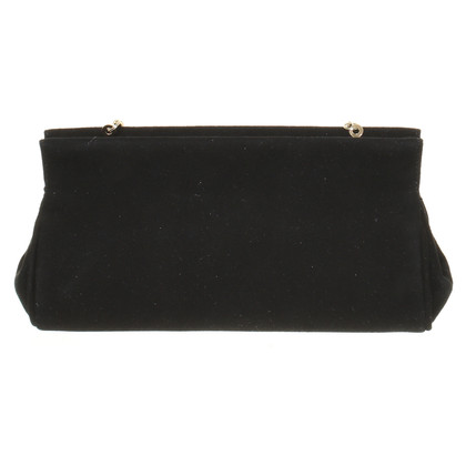 L.K. Bennett clutch in nero