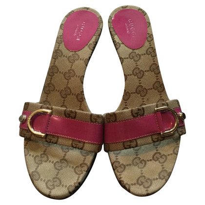Gucci Sandals with Guccissima pattern