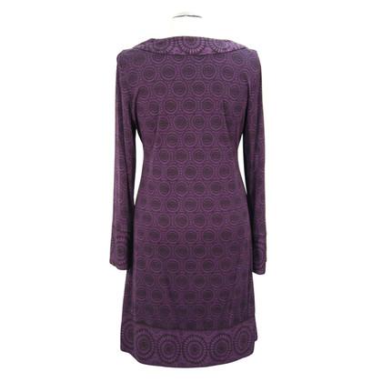 L.K. Bennett Silk dress in violet